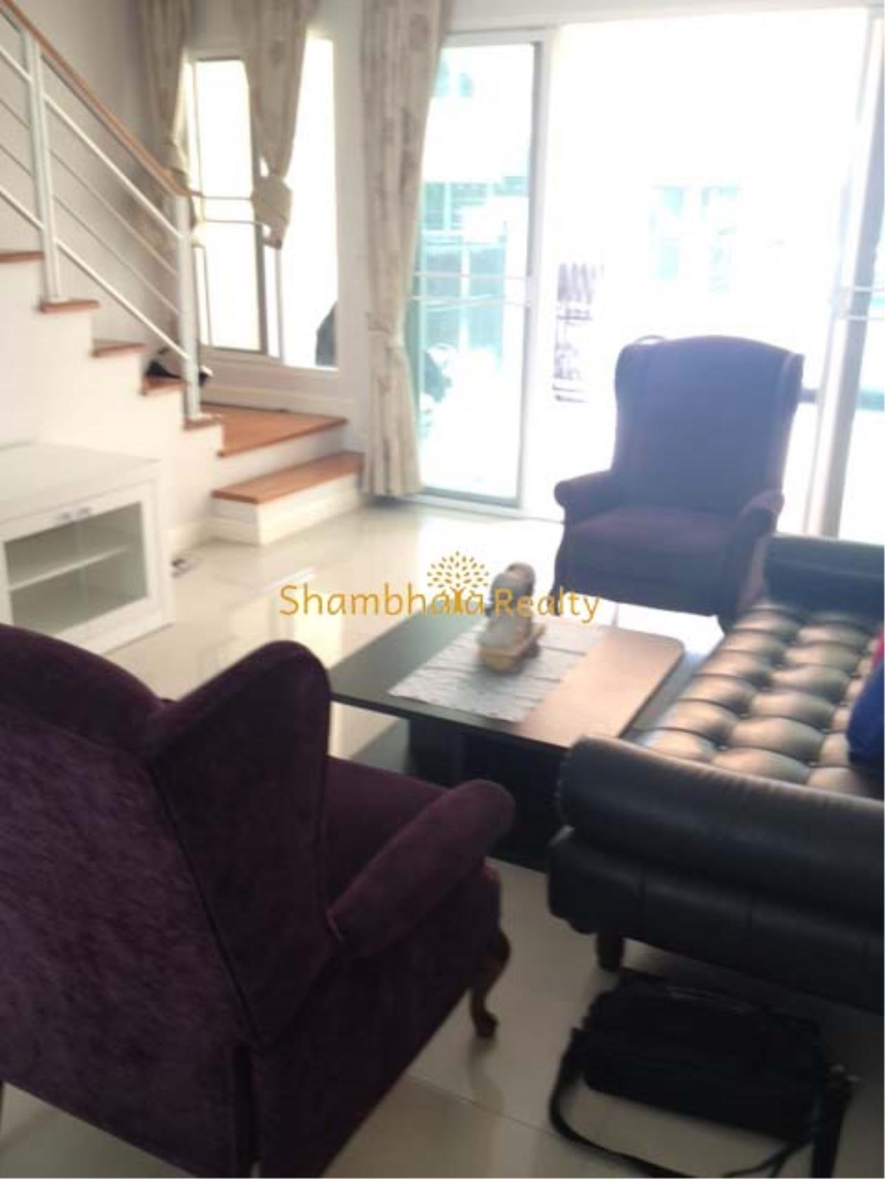 Shambhala Realty Agency's Ban Klang Krung Sathorn Townhouse for Rent in Sathorn 4