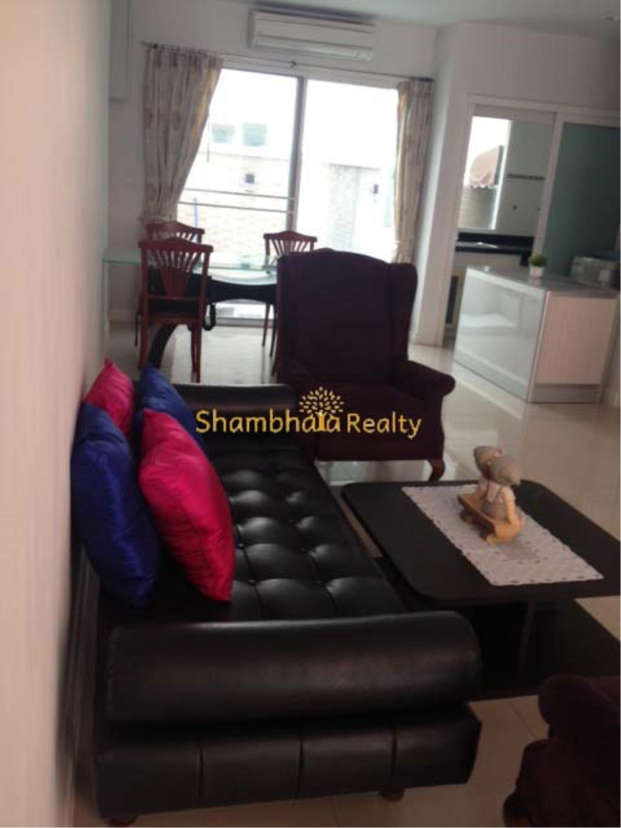Shambhala Realty Agency's Ban Klang Krung Sathorn Townhouse for Rent in Sathorn 2