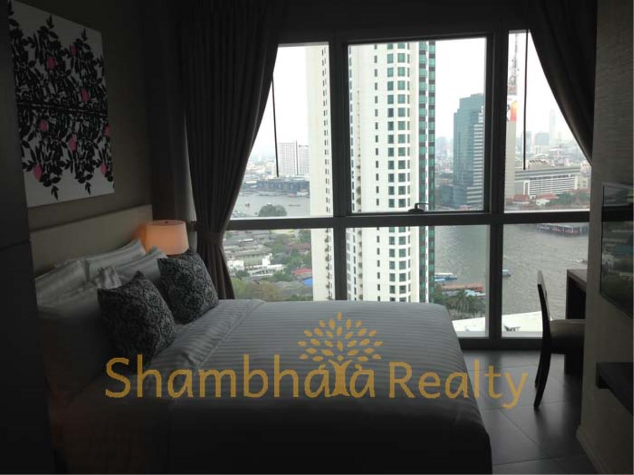Shambhala Realty Agency's The River Condominium for Rent in Charoennakorn Soi 13 22