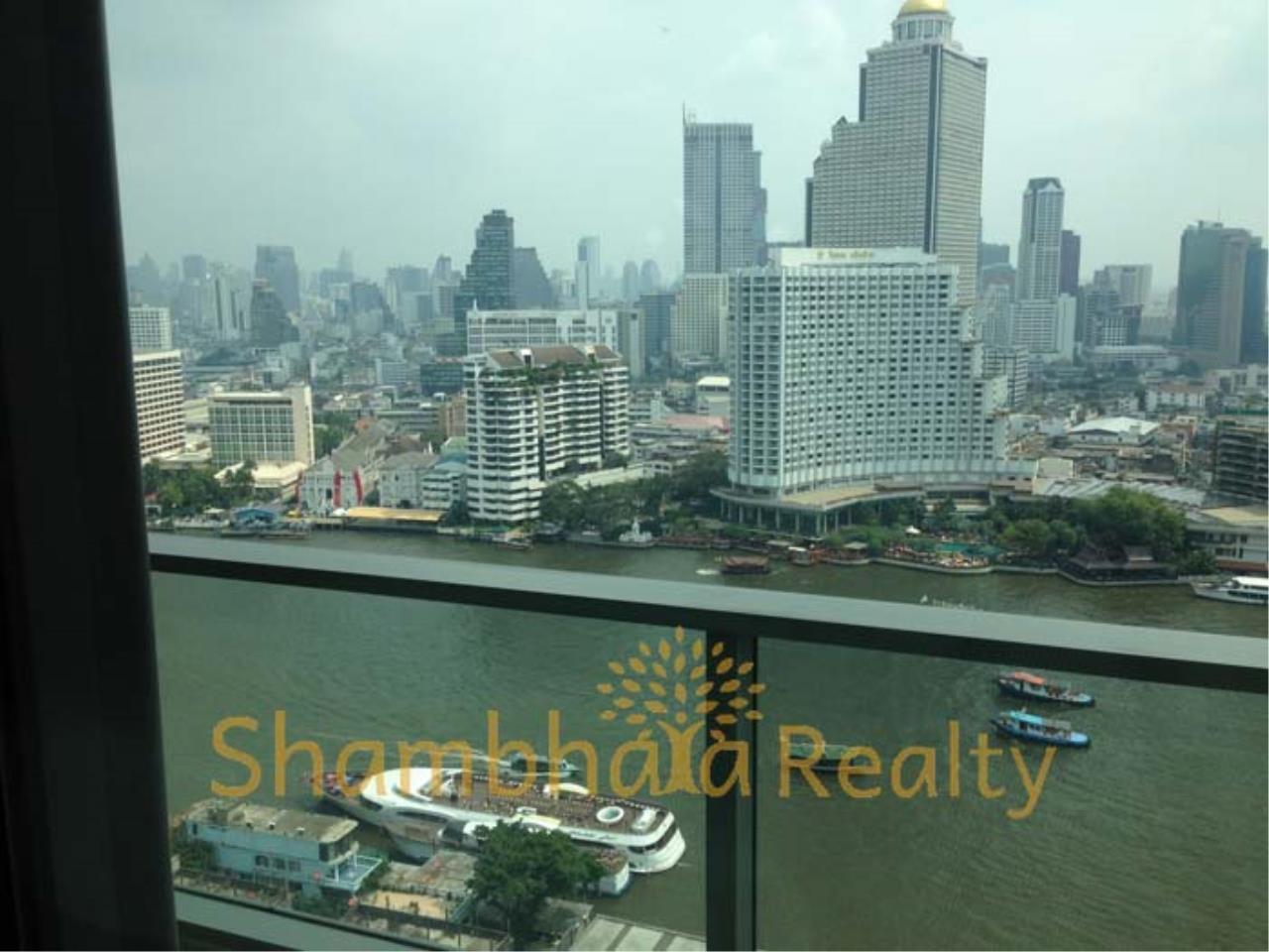 Shambhala Realty Agency's The River Condominium for Rent in Charoennakorn Soi 13 1