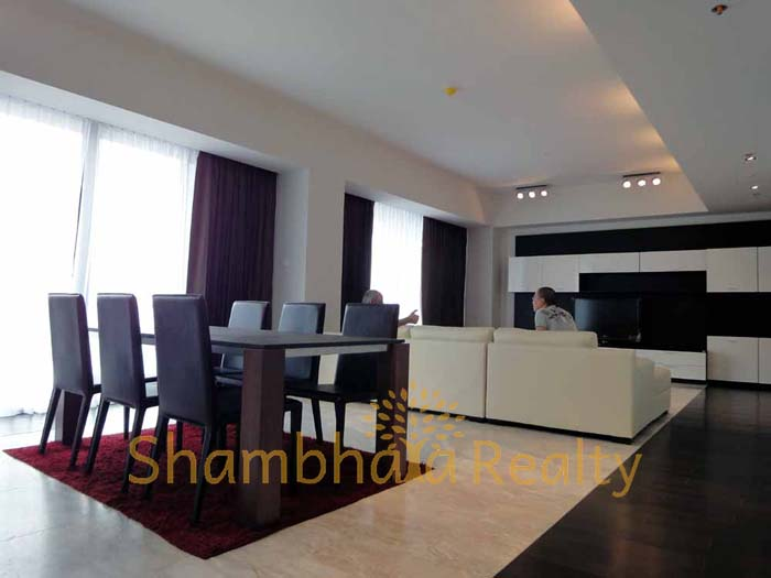 Shambhala Realty Agency's The Met at Sathorn 3BR 1