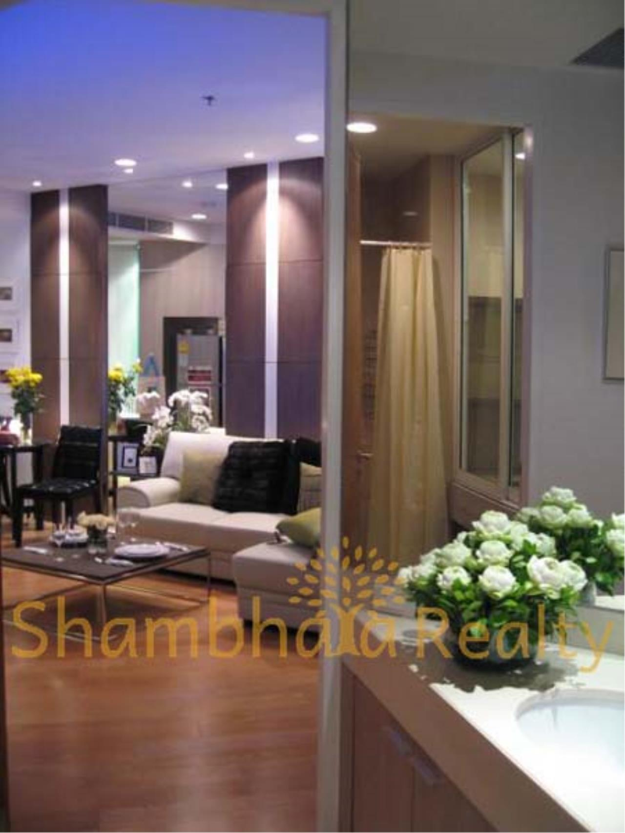 Shambhala Realty Agency's Chatrium Residence Riverside  Condominium for Rent in Chareon Krung road 7