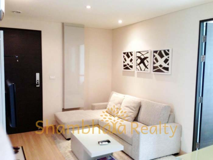 Shambhala Realty Agency's One BR Condo at Address Patumwan 1
