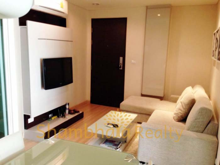 Shambhala Realty Agency's One BR Condo at Address Patumwan 9