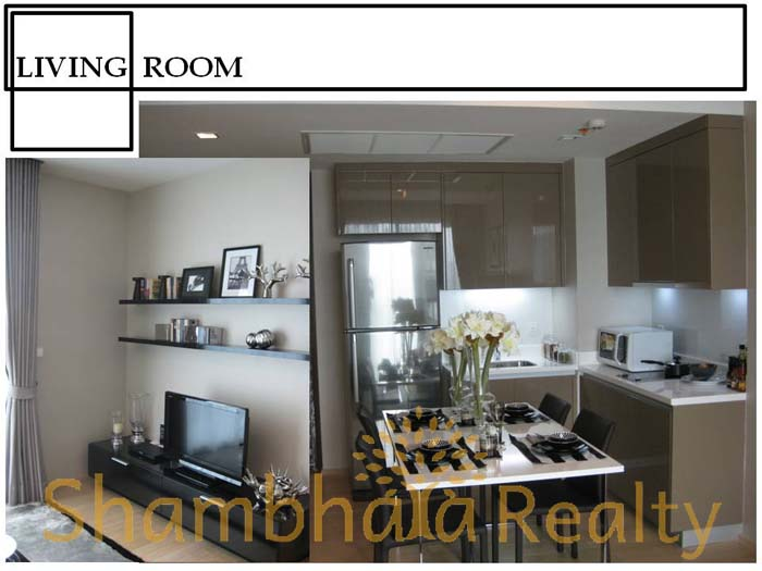 Shambhala Realty Agency's One BR Condo Siri at Sukhumvit 38 2