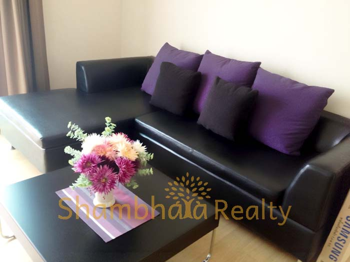 Shambhala Realty Agency's Condo for rent Noble Reflex 1BR 1