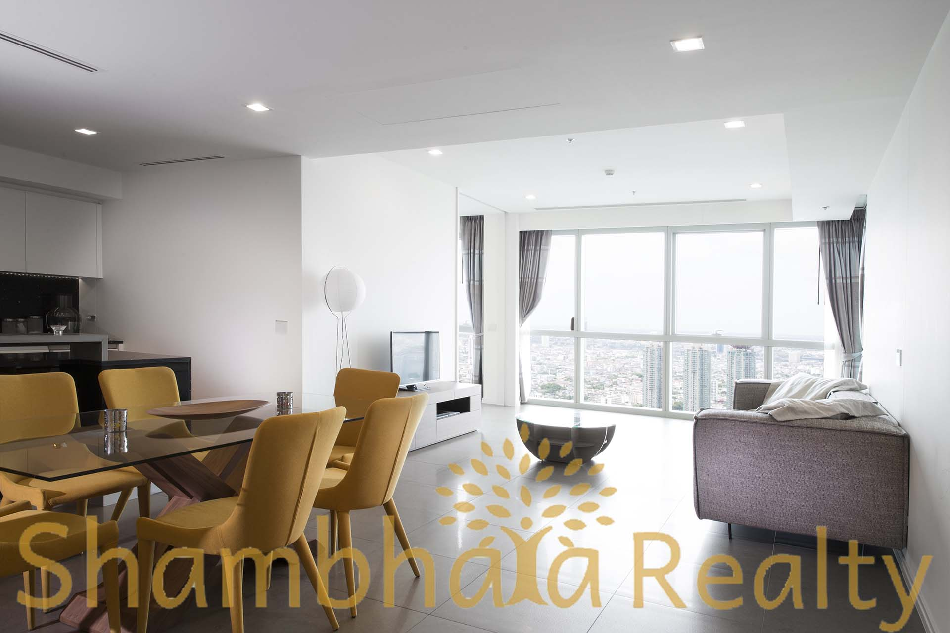 Shambhala Realty Agency's The River Condominium Modern lux 2 BR 1