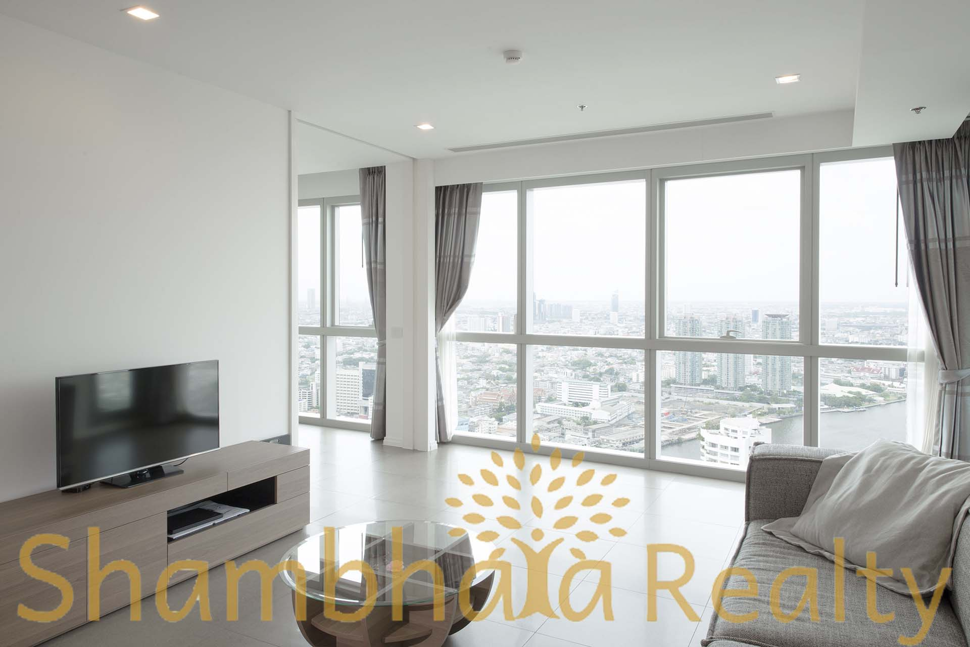 Shambhala Realty Agency's The River Condominium Modern lux 2 BR 4