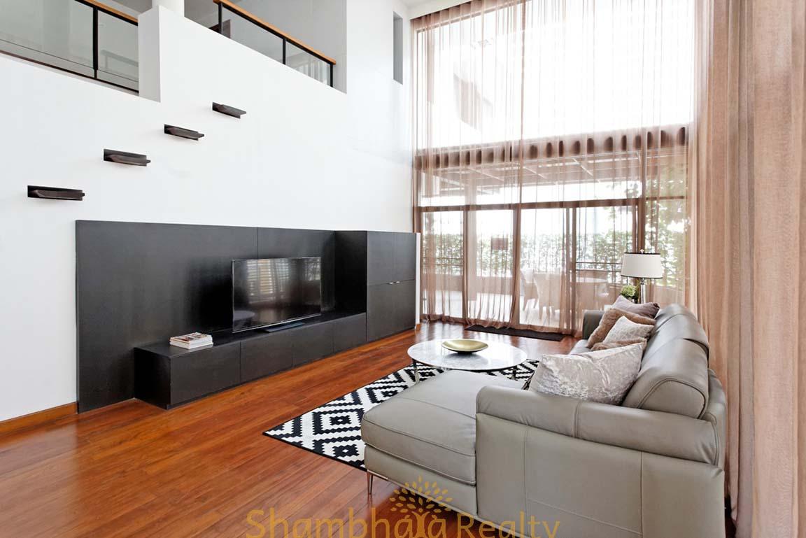 Shambhala Realty Agency's 4BR Levara Residence Luxury Duplex at Sukhumvit 24 11