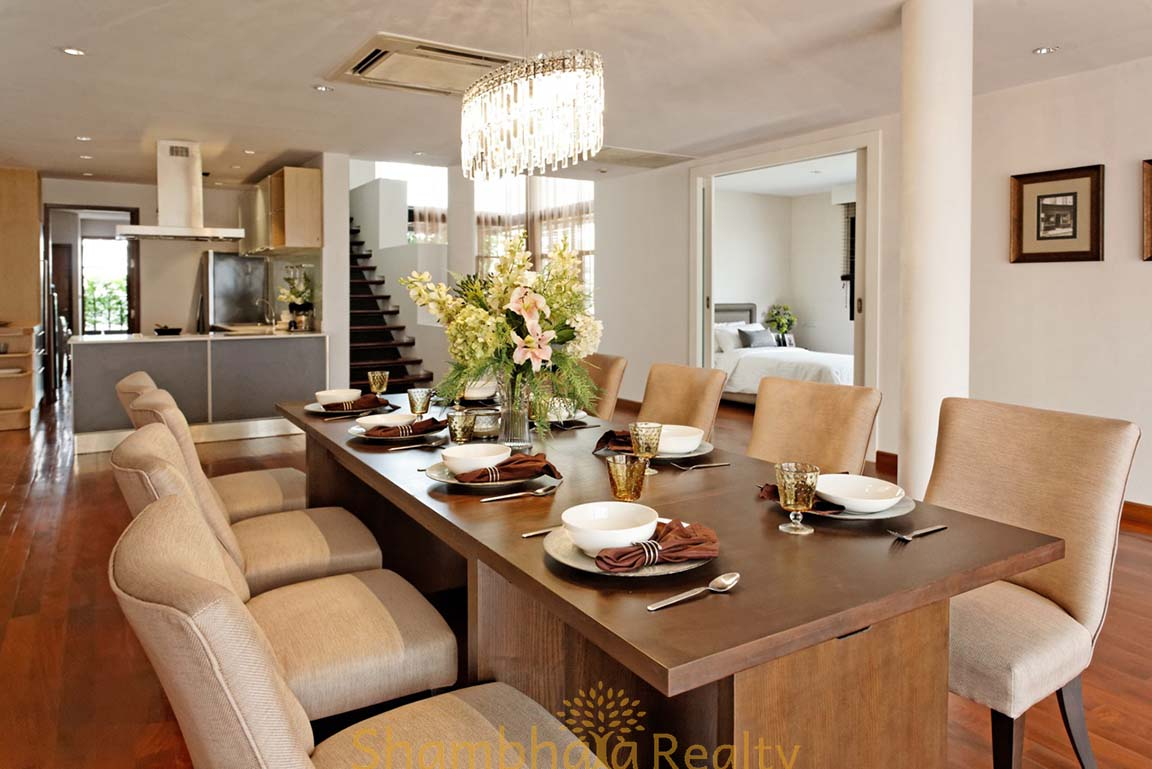 Shambhala Realty Agency's 4BR Levara Residence Luxury Duplex at Sukhumvit 24 15