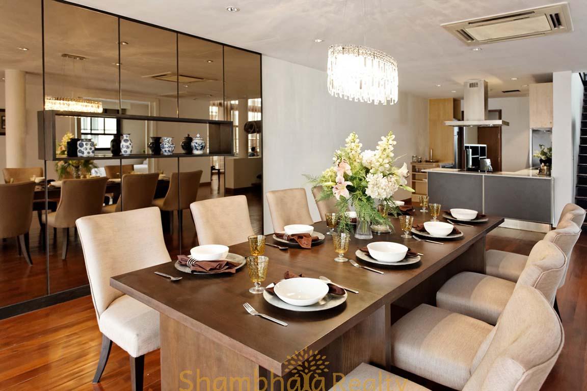 Shambhala Realty Agency's 4BR Levara Residence Luxury Duplex at Sukhumvit 24 16