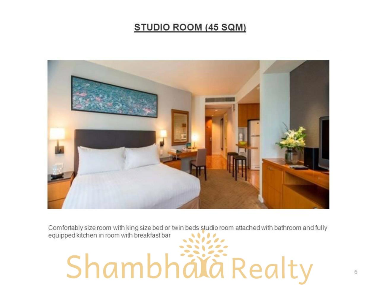 Shambhala Realty Agency's Chatrium Residence  Condominium for Rent in Sathorn 13