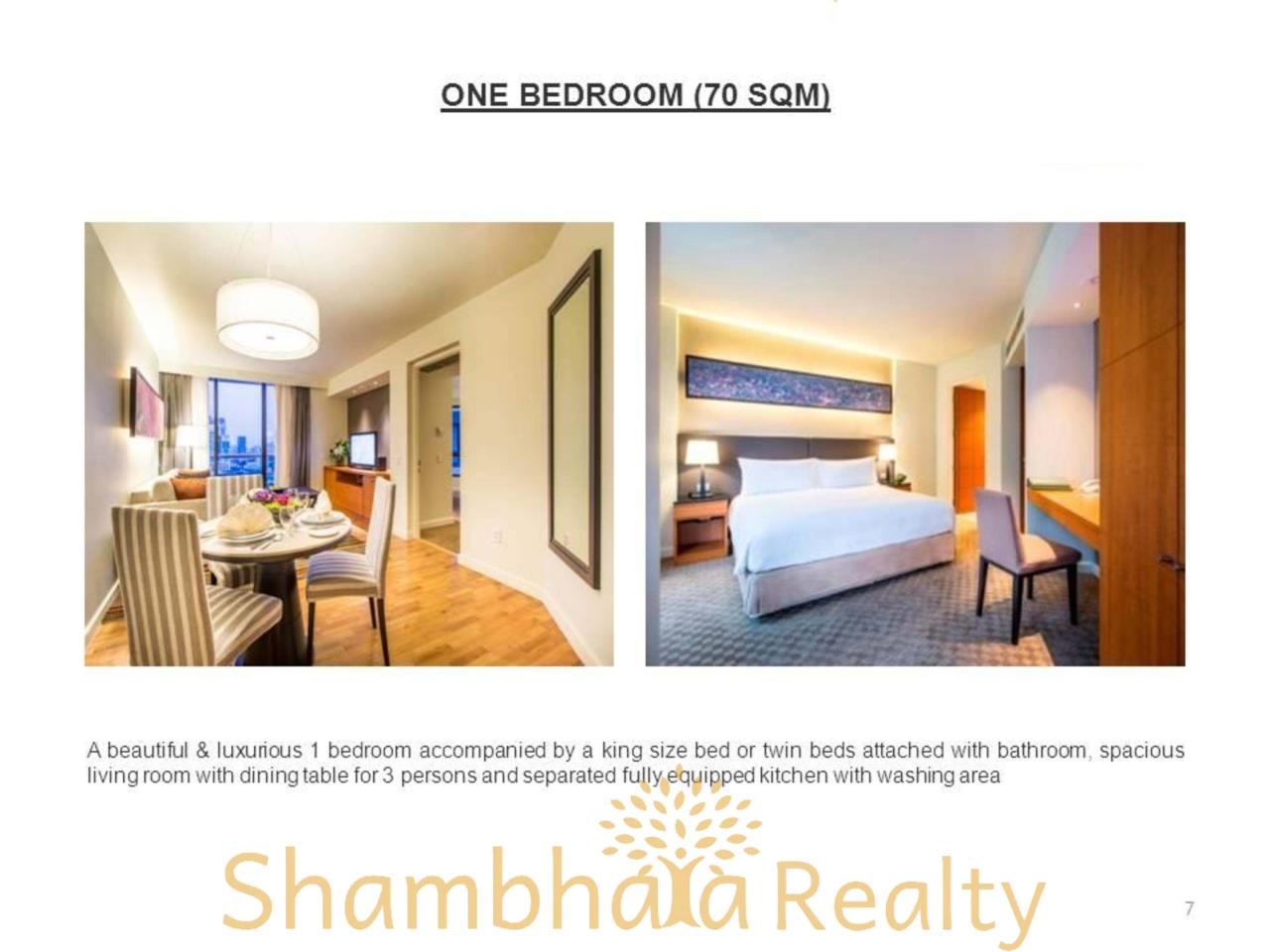 Shambhala Realty Agency's Chatrium Residence  Condominium for Rent in Sathorn 16