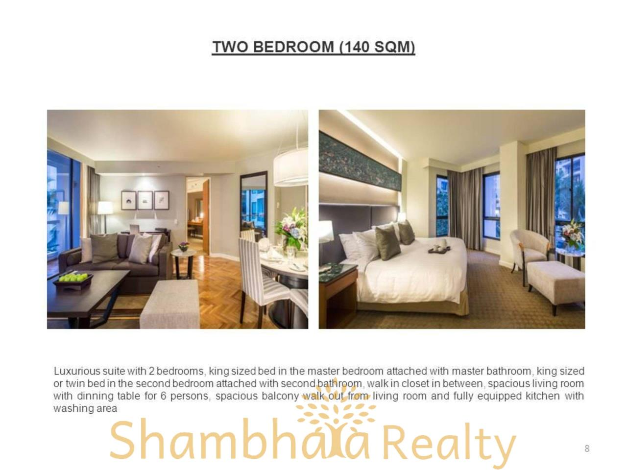 Shambhala Realty Agency's Chatrium Residence  Condominium for Rent in Sathorn 9