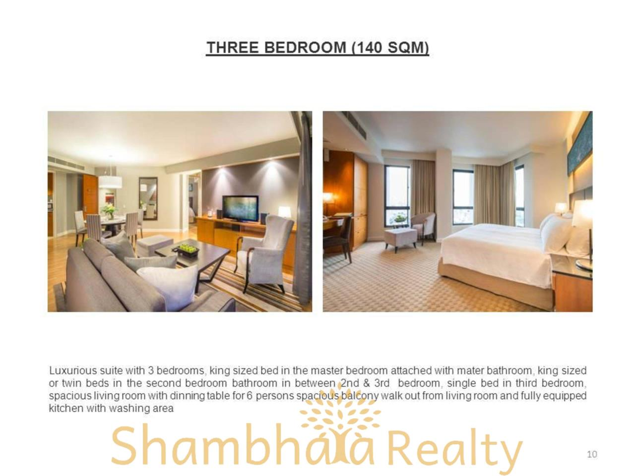 Shambhala Realty Agency's Chatrium Residence  Condominium for Rent in Sathorn 4