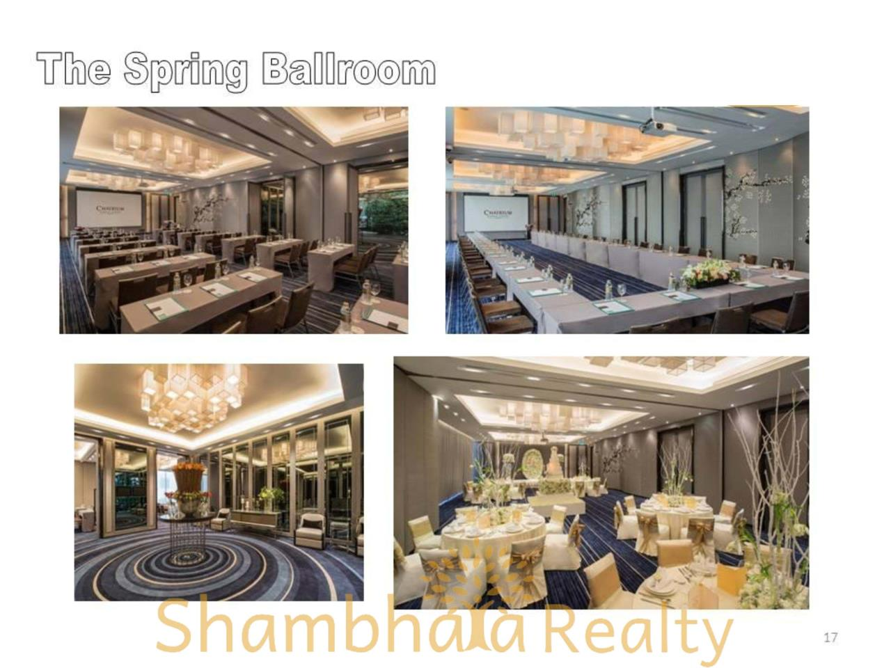 Shambhala Realty Agency's Chatrium Residence  Condominium for Rent in Sathorn 15