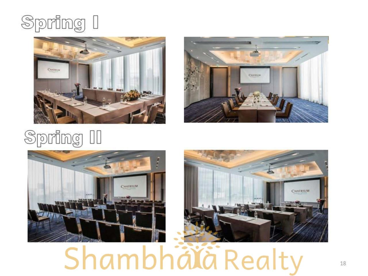 Shambhala Realty Agency's Chatrium Residence  Condominium for Rent in Sathorn 18