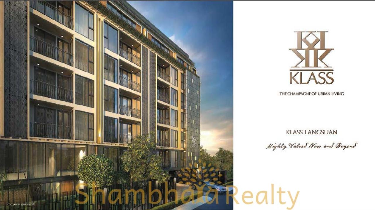 Shambhala Realty Agency's Klass Langsuan Condominium for Sale in Langsuan 8