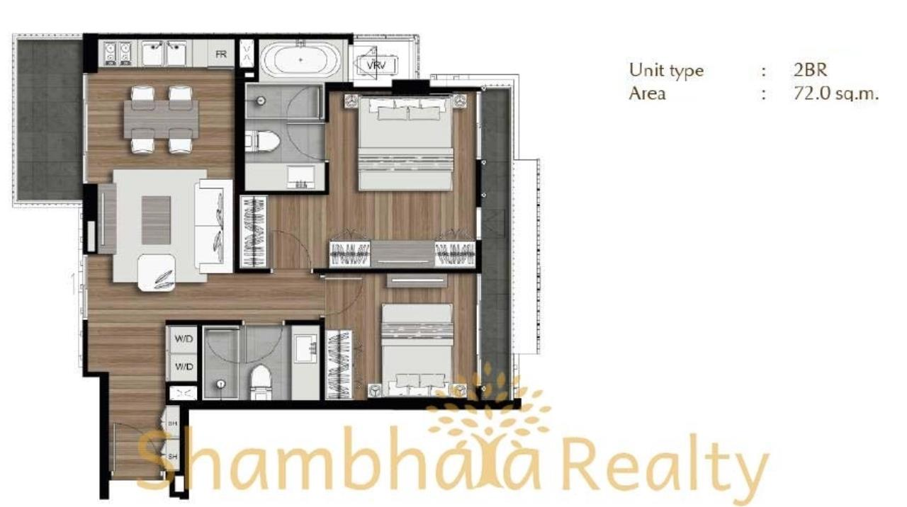 Shambhala Realty Agency's Klass Langsuan Condominium for Sale in Langsuan 2