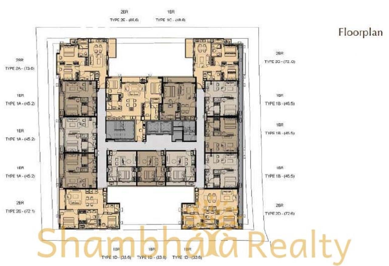 Shambhala Realty Agency's Klass Langsuan Condominium for Sale in Langsuan 3