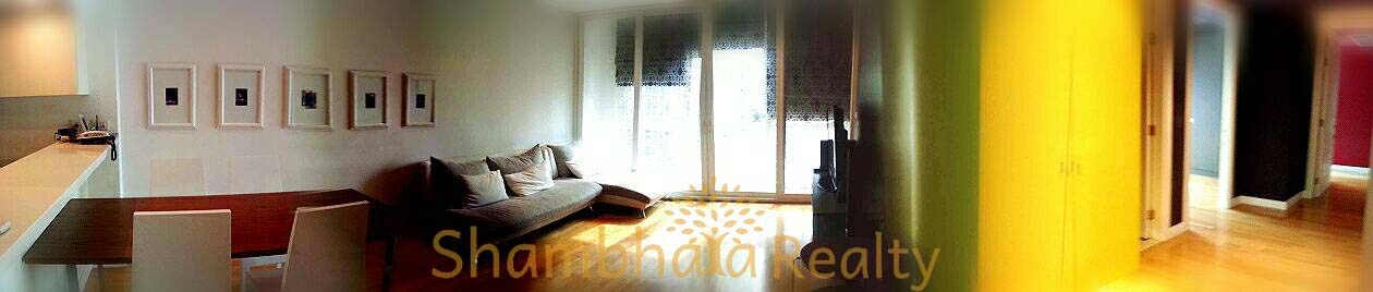 Shambhala Realty Agency's Athenee Residence 2 Bedrooms, 2 Bathrooms, 96 sq.m., 9A1 floor, 60,000 baht/ month for rent 3
