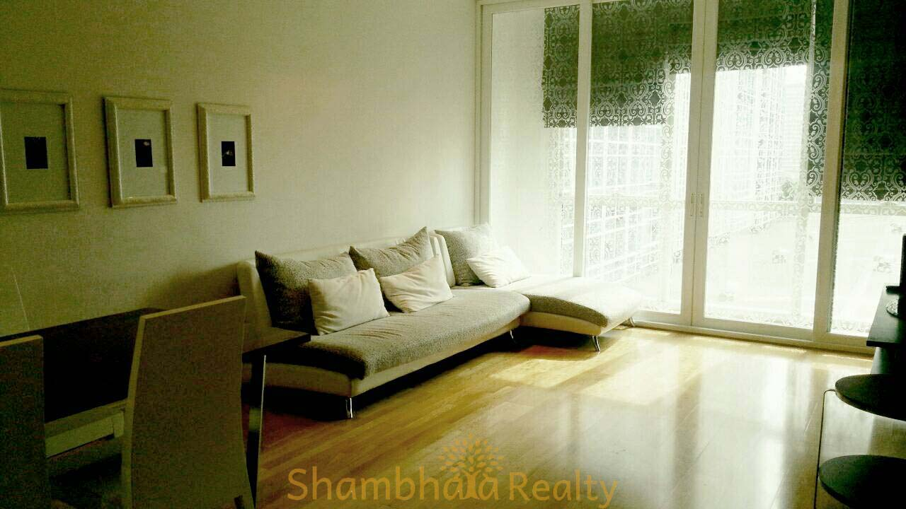 Shambhala Realty Agency's Athenee Residence 2 Bedrooms, 2 Bathrooms, 96 sq.m., 9A1 floor, 60,000 baht/ month for rent 5
