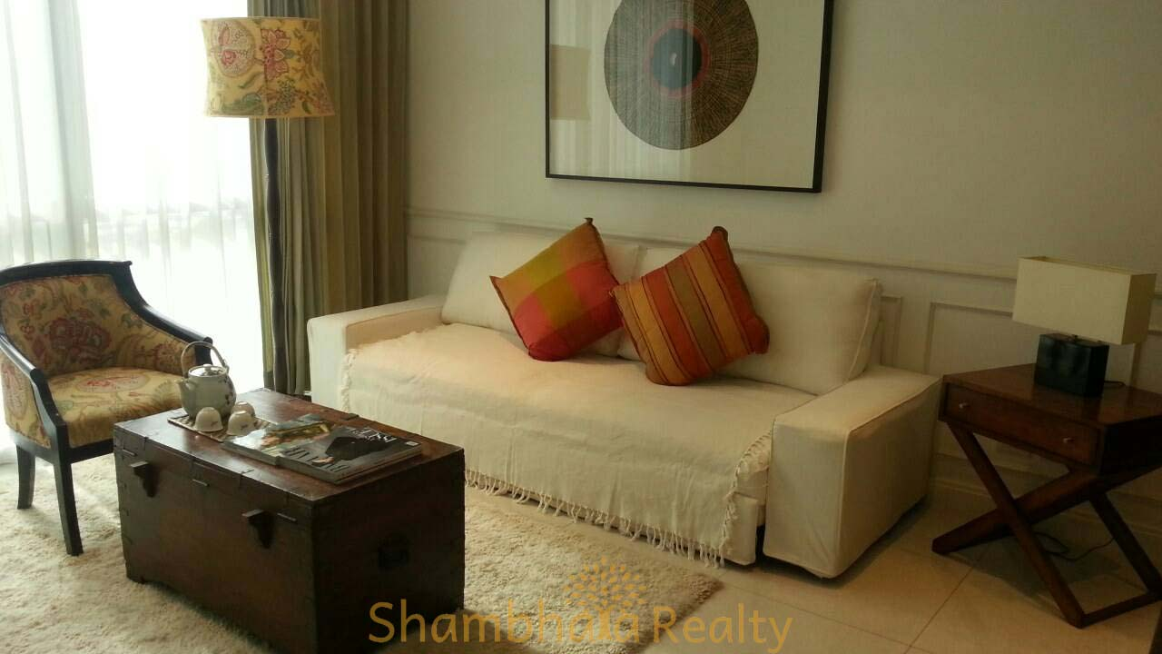 Shambhala Realty Agency's Athenee Residence 2 Bedrooms 2 Bathrooms 99 sq.m. 80,000 baht/ month for rent 1