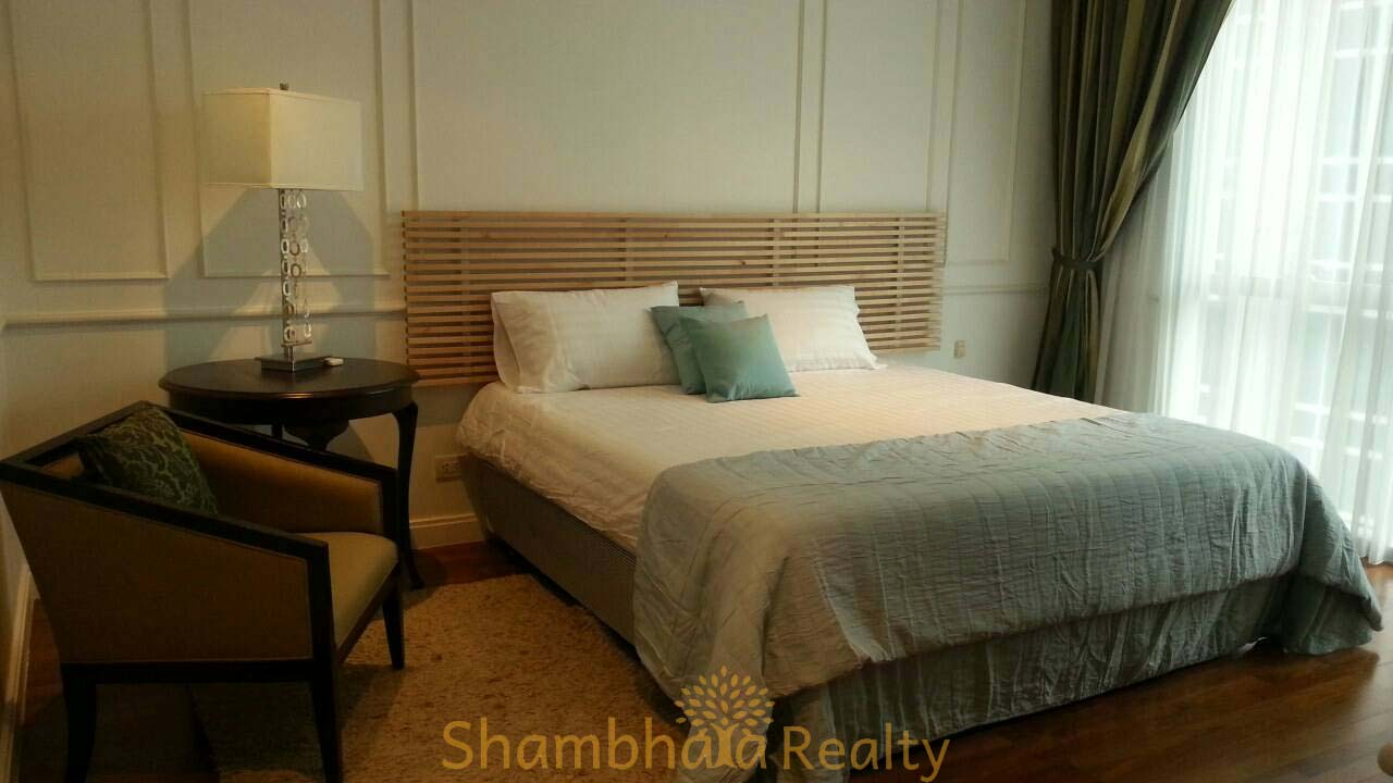 Shambhala Realty Agency's Athenee Residence 2 Bedrooms 2 Bathrooms 99 sq.m. 80,000 baht/ month for rent 4