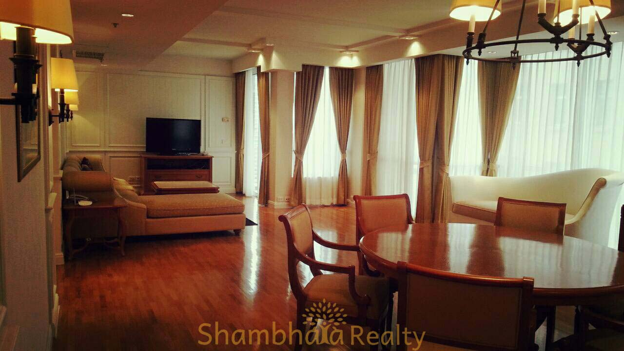 Shambhala Realty Agency's Langsuan Ville condominium 2 Bedrooms 2 Bathrooms 130 sq.m. 1