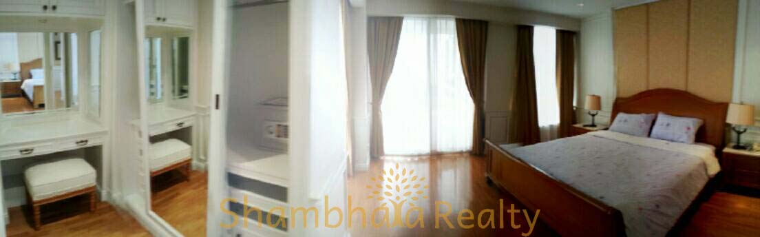 Shambhala Realty Agency's Langsuan Ville condominium 2 Bedrooms 2 Bathrooms 130 sq.m. 7
