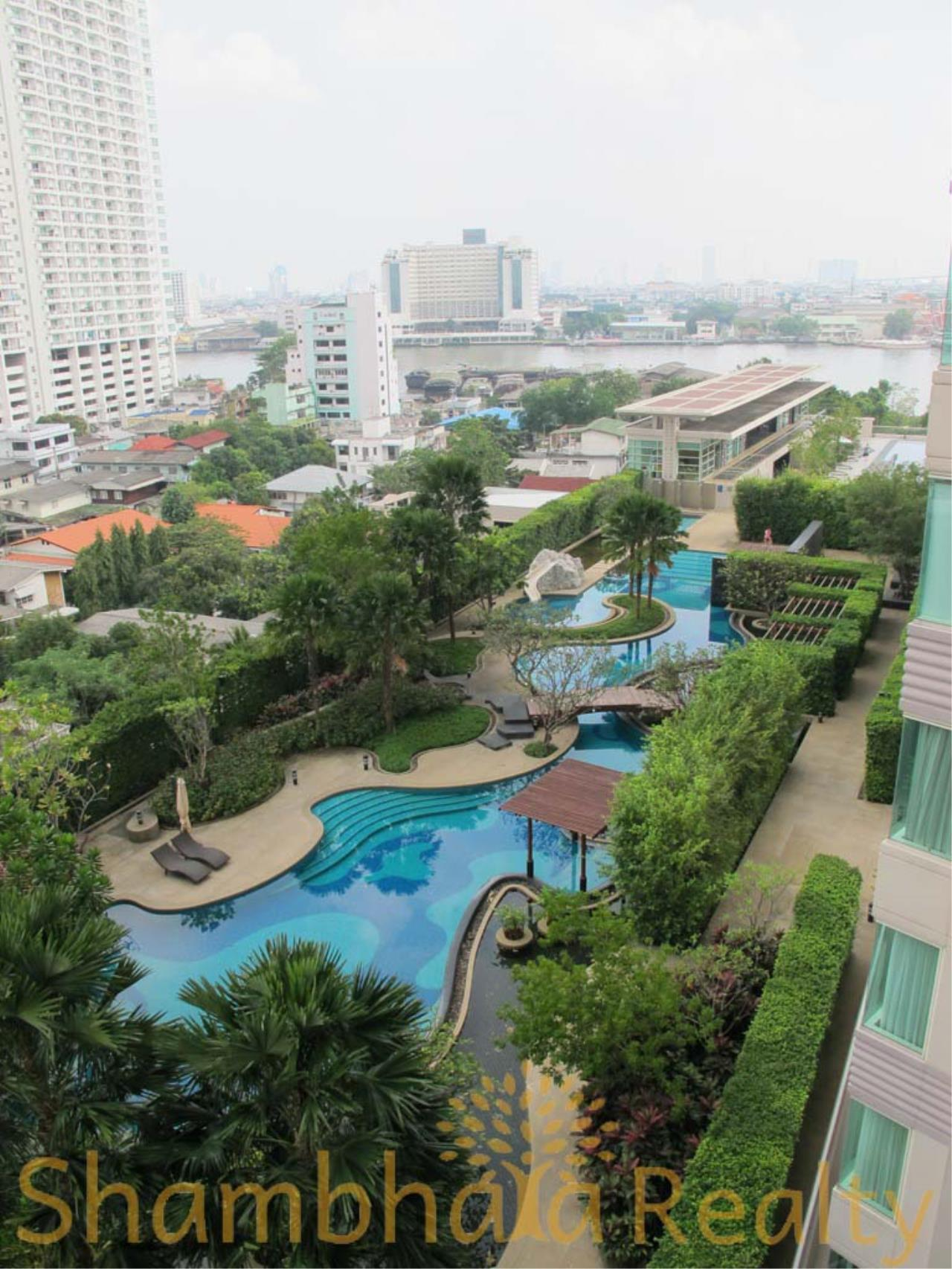 Shambhala Realty Agency's Watermark Chaophraya Condominium Condominium for Sale in Charoen Nakorn Rd 12