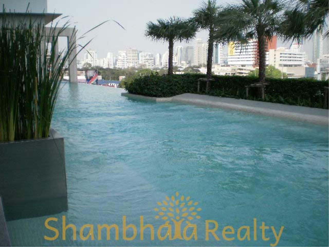 Shambhala Realty Agency's Amanta Lumpini Condominium for Rent in Rama4 Road, 100 m From MRT KlongTaei 1