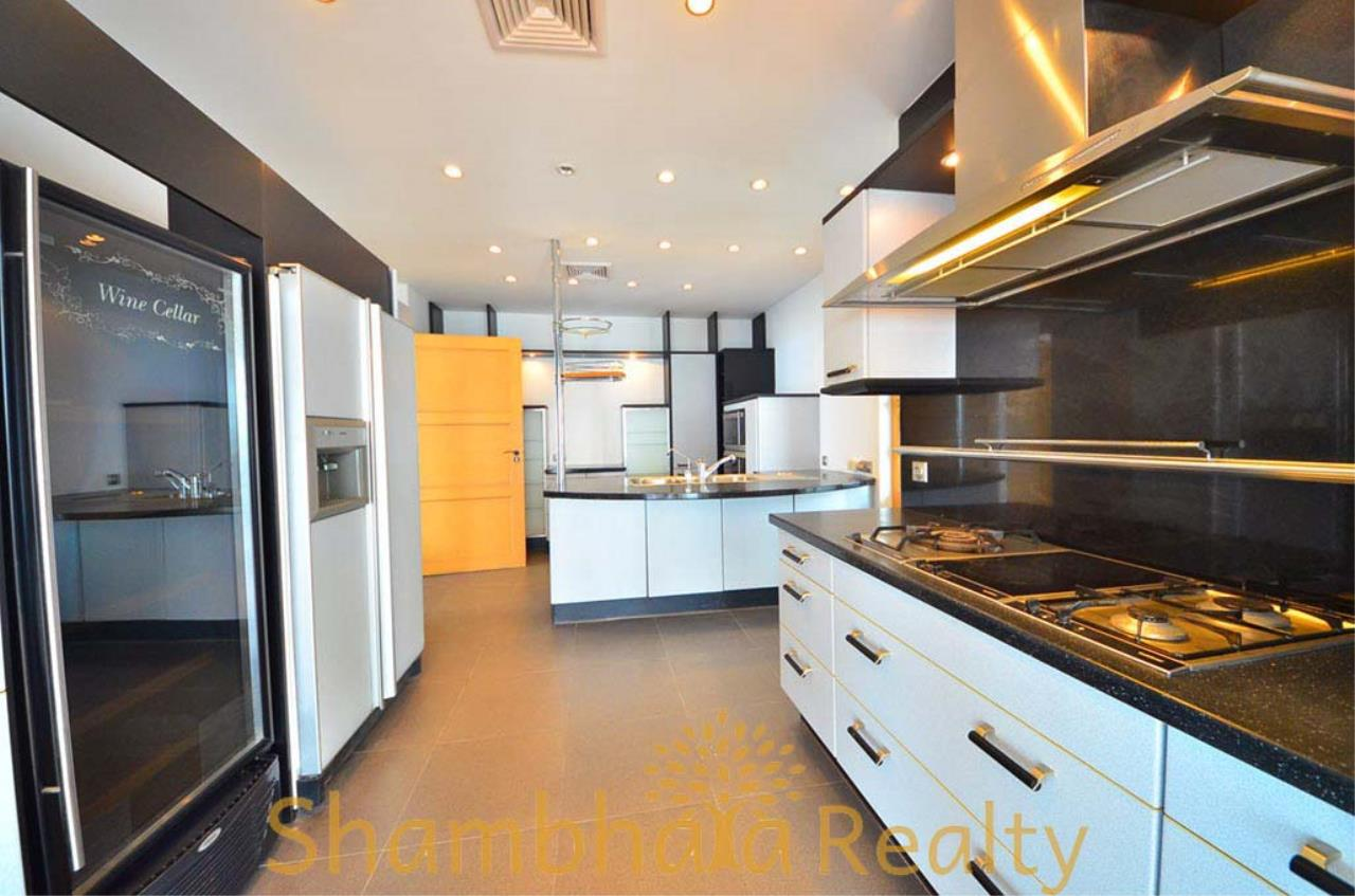 Shambhala Realty Agency's Saichol Mansion Penthouse 360° Panoramic View of the Chao Praya River Condominium for Sale/Rent 5