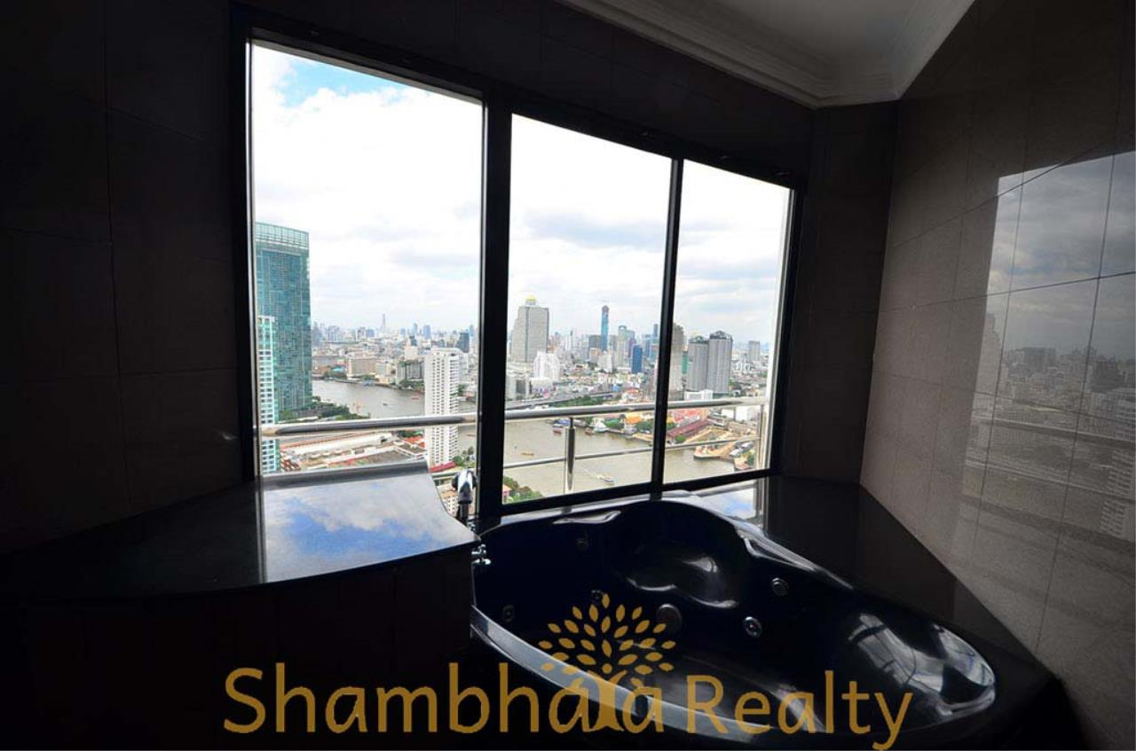 Shambhala Realty Agency's Saichol Mansion Penthouse 360° Panoramic View of the Chao Praya River Condominium for Sale/Rent 27
