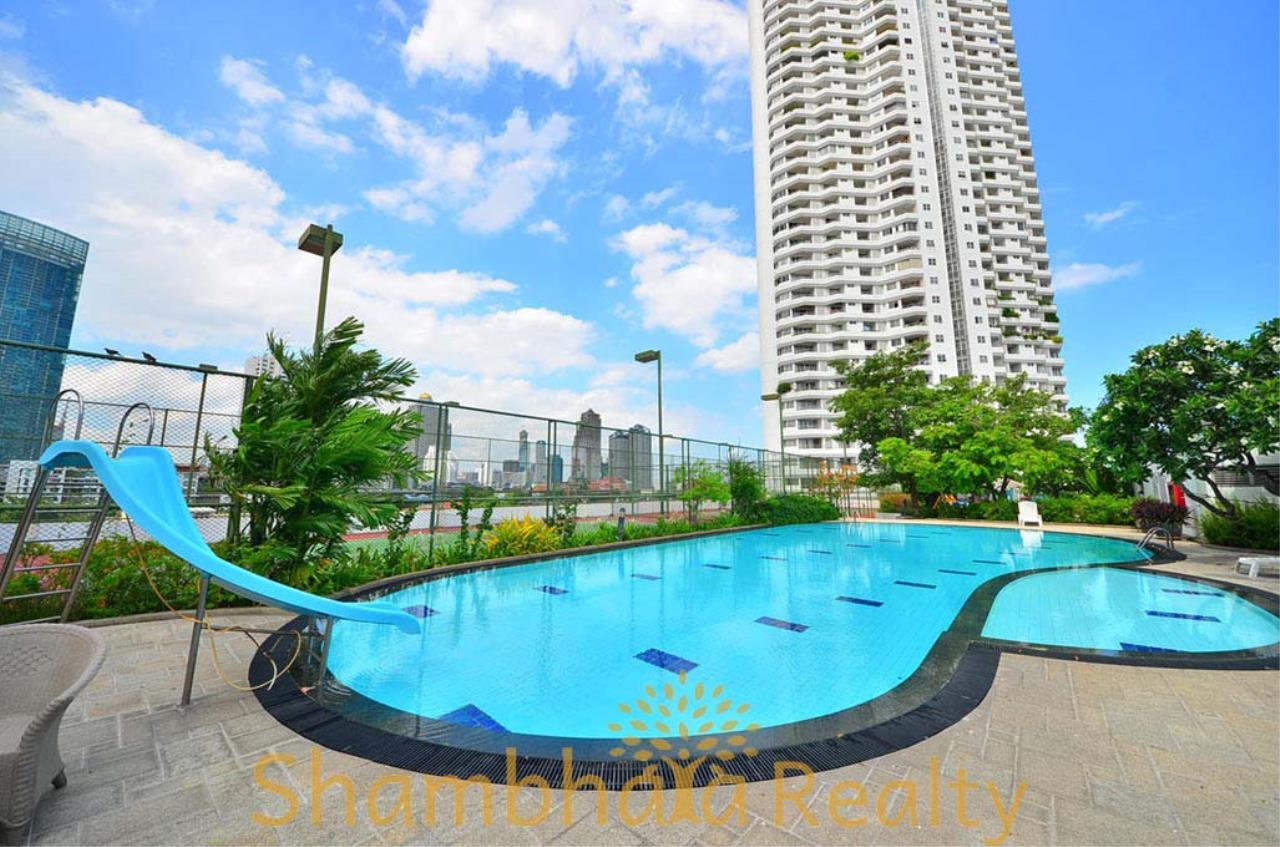 Shambhala Realty Agency's Saichol Mansion Penthouse 360° Panoramic View of the Chao Praya River Condominium for Sale/Rent 16