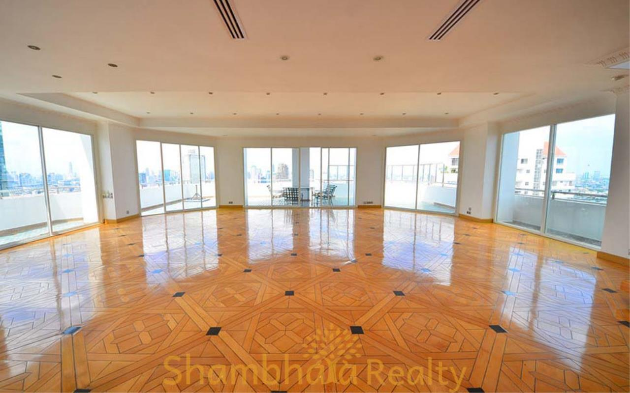 Shambhala Realty Agency's Saichol Mansion Penthouse 360° Panoramic View of the Chao Praya River Condominium for Sale/Rent 20