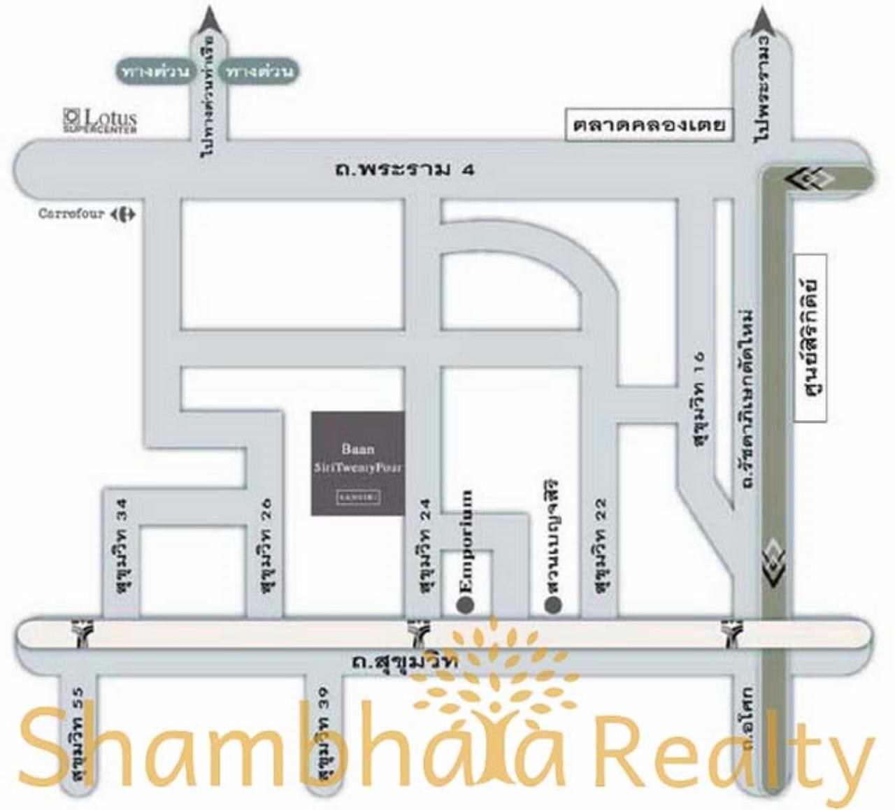 Shambhala Realty Agency's Baan Siri 24 Condominium for Rent in Suhkumvit 24 7