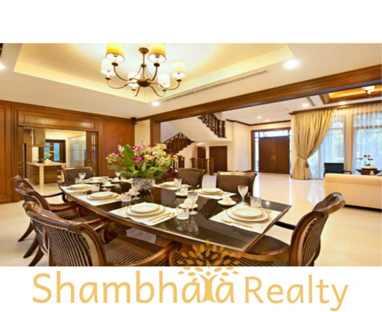 Shambhala Realty Agency's L & H Villa House for Rent in Narathiwas Ratchanakarin 15