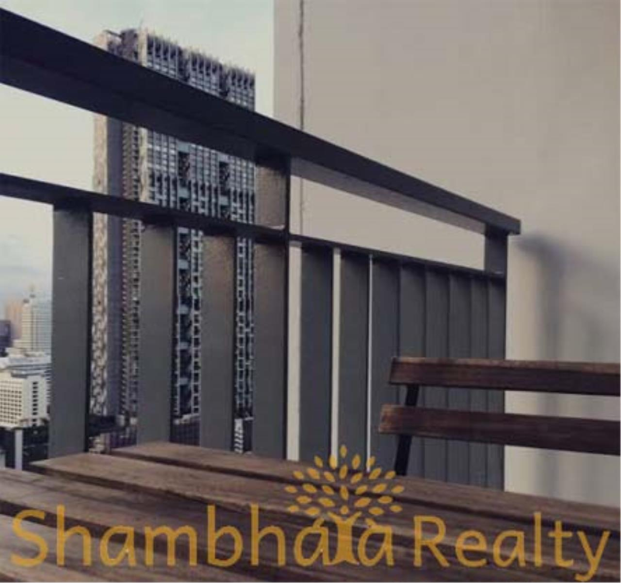 Shambhala Realty Agency's Rhythm Sathorn - Narathiwas Condominium for Rent in Narathiwas road 7