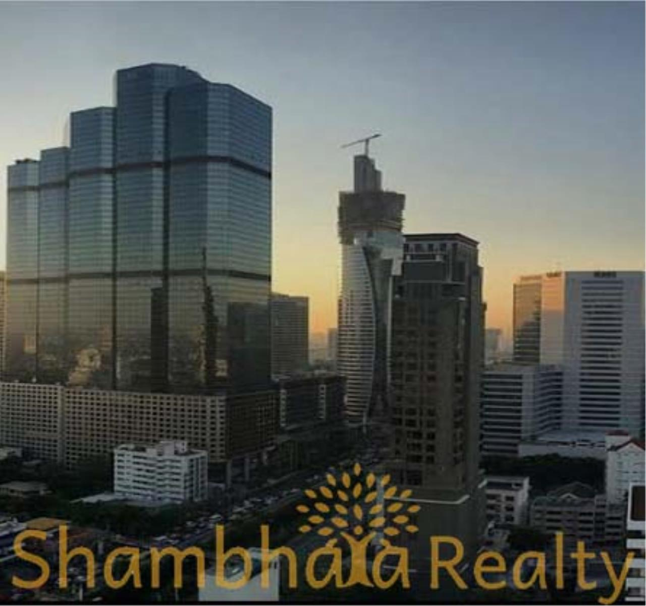 Shambhala Realty Agency's Rhythm Sathorn - Narathiwas Condominium for Rent in Narathiwas road 1