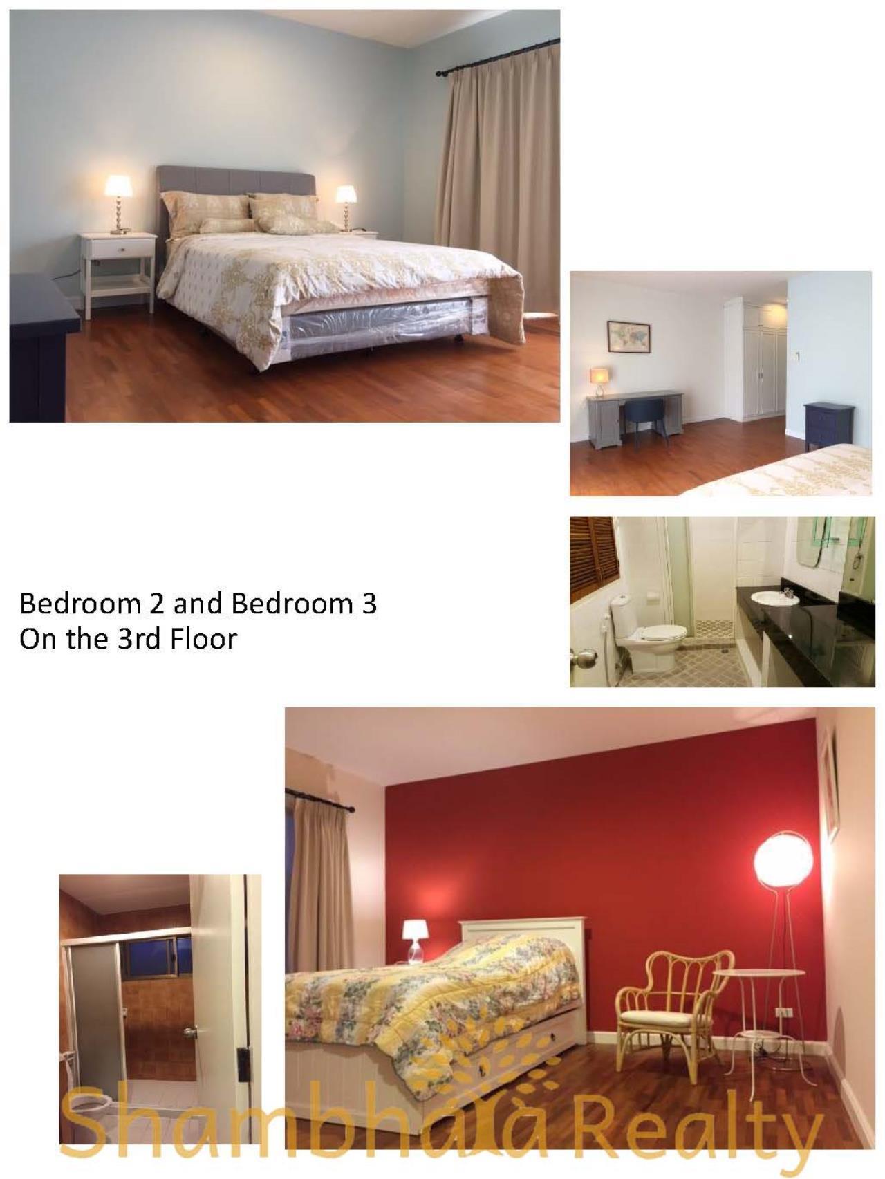 Shambhala Realty Agency's Townhouse for Rent, BTS Ekkamai Condominium for Rent in Sukhumvit 61 Ekkamai 2