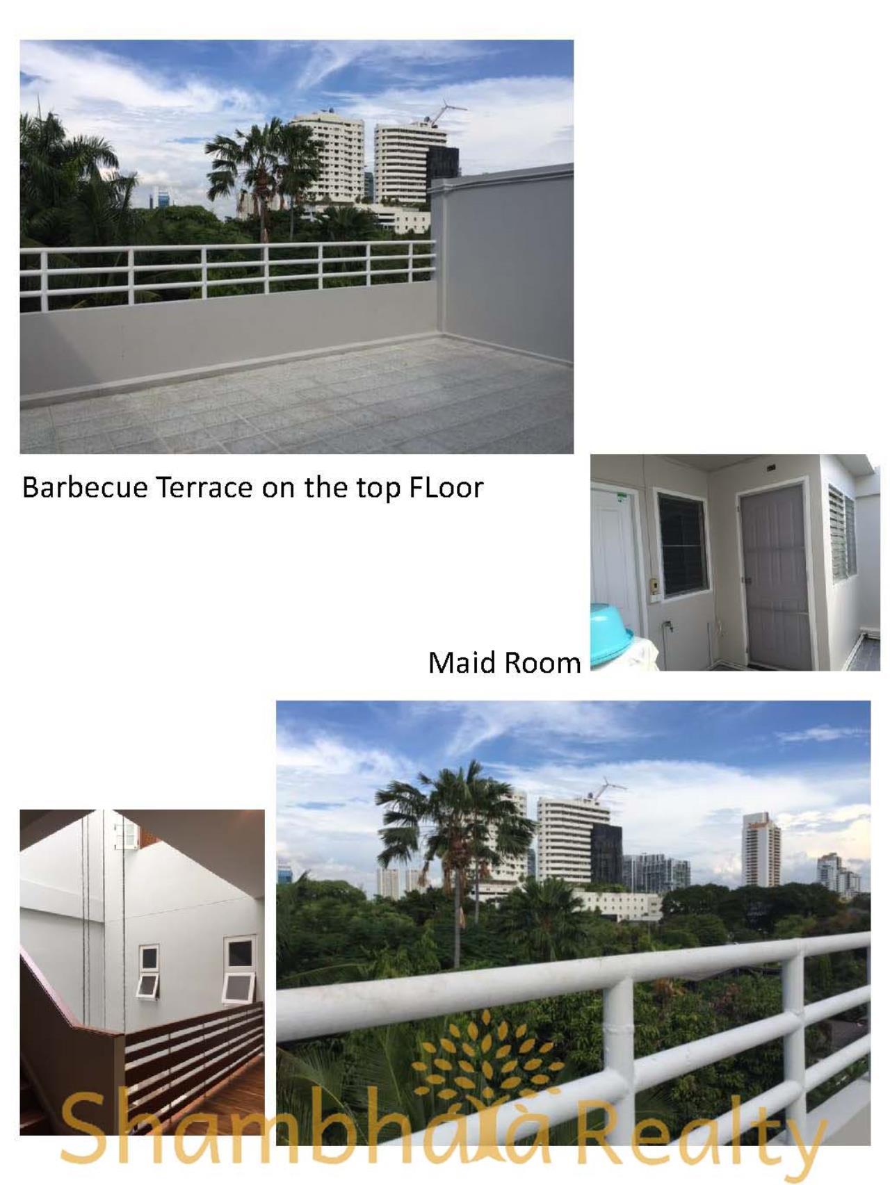 Shambhala Realty Agency's Townhouse for Rent, BTS Ekkamai Condominium for Rent in Sukhumvit 61 Ekkamai 4