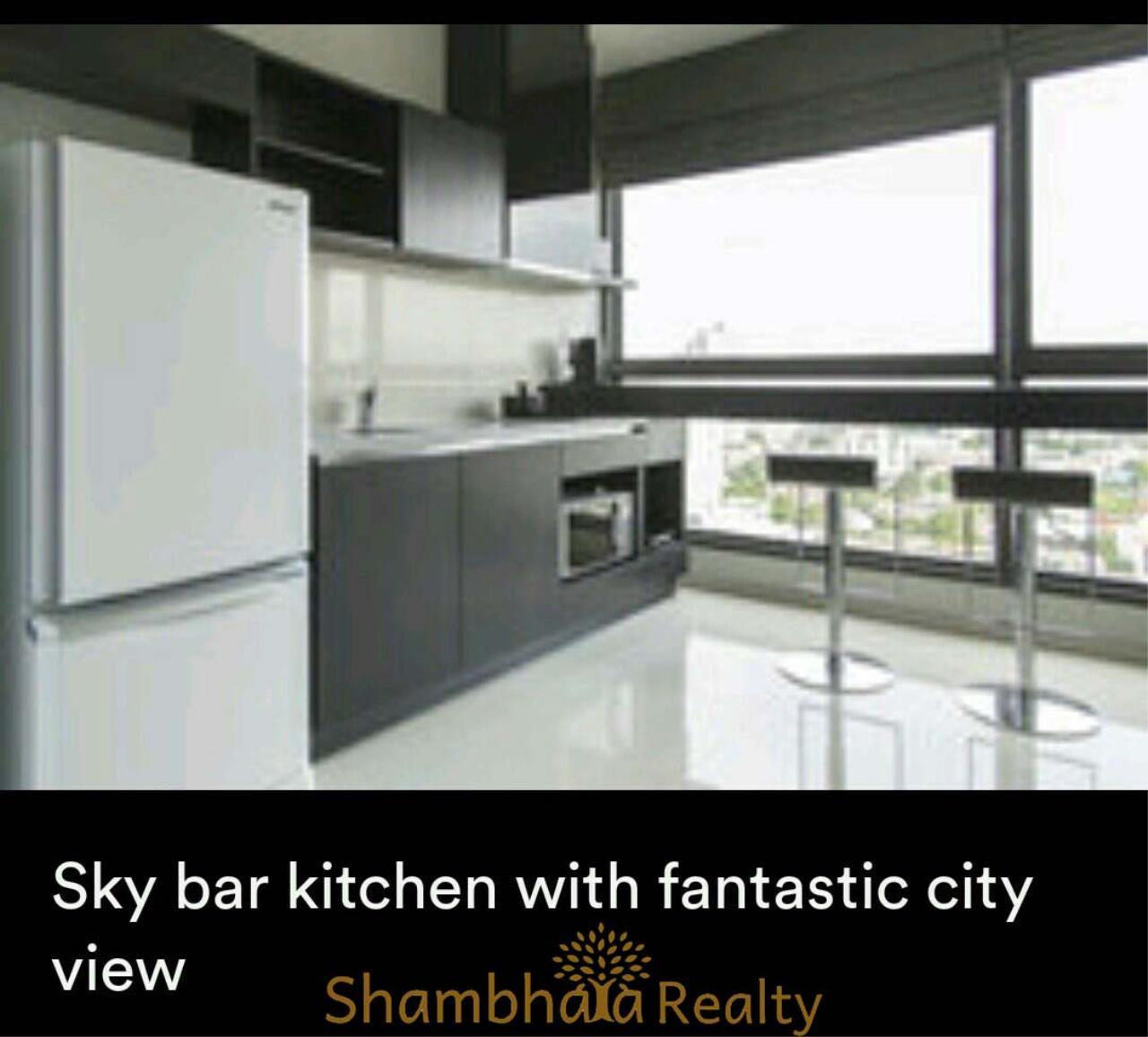 Shambhala Realty Agency's Rhythm 44/1  Condominium for Rent in Sukhumvit 44/1 4
