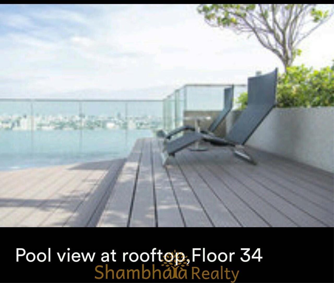 Shambhala Realty Agency's Rhythm 44/1  Condominium for Rent in Sukhumvit 44/1 6
