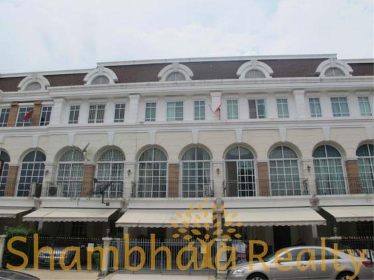 Shambhala Realty Agency's Plus City Park  Townhouse Condominium for Rent in Ramkhamheng 24 2