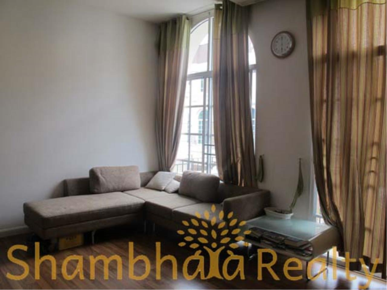 Shambhala Realty Agency's Plus City Park  Townhouse Condominium for Rent in Ramkhamheng 24 7