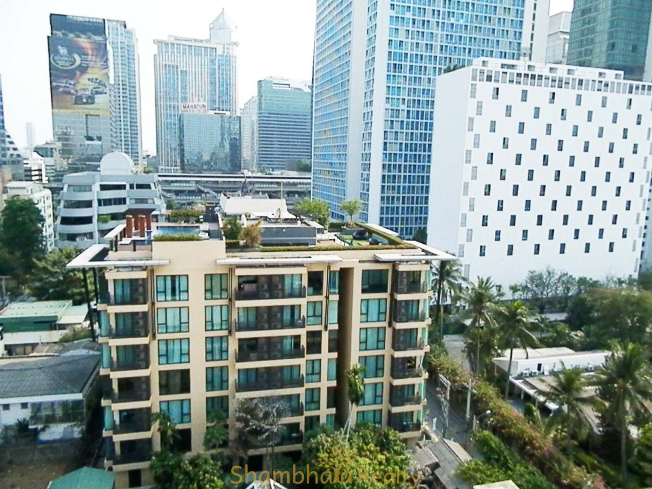 Shambhala Realty Agency's Renova Residence Chidlom Condominium for Rent 3