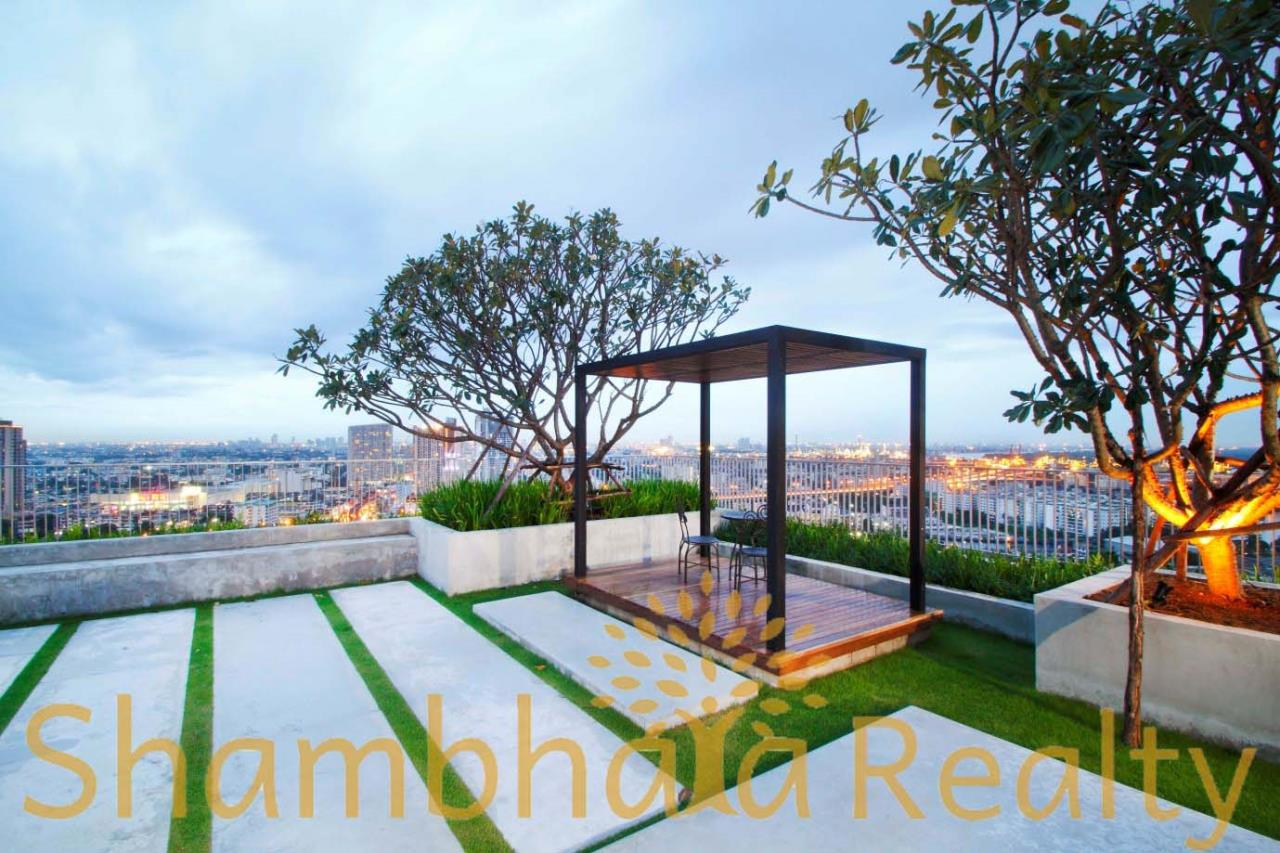 Shambhala Realty Agency's The Bloom Sukhumvit 71 Condominium for Rent in Sukhumvit 71 7