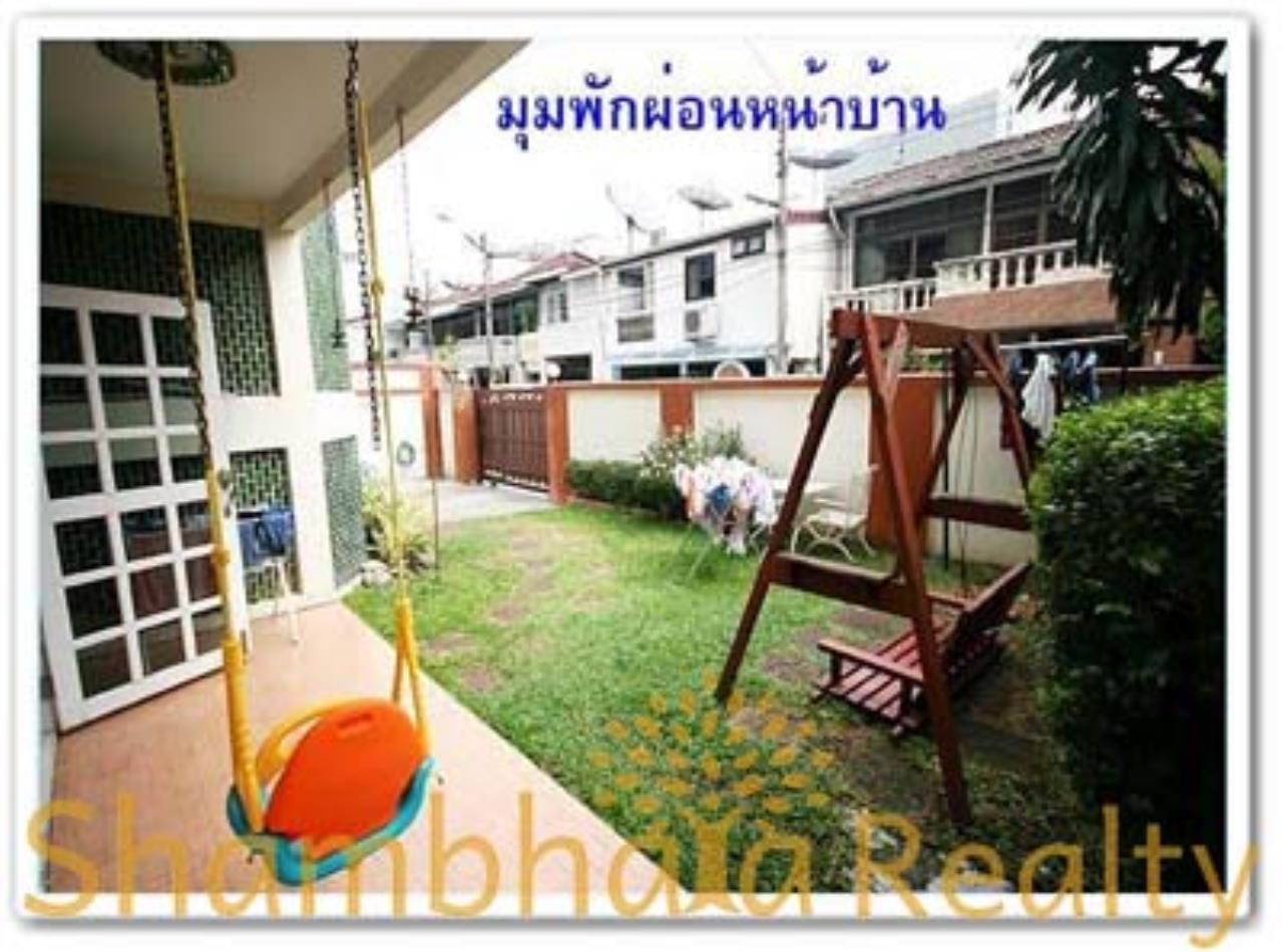 Shambhala Realty Agency's House for Rent: Boo Baan Ari Condominium for Rent in Sukhumvit 26 7