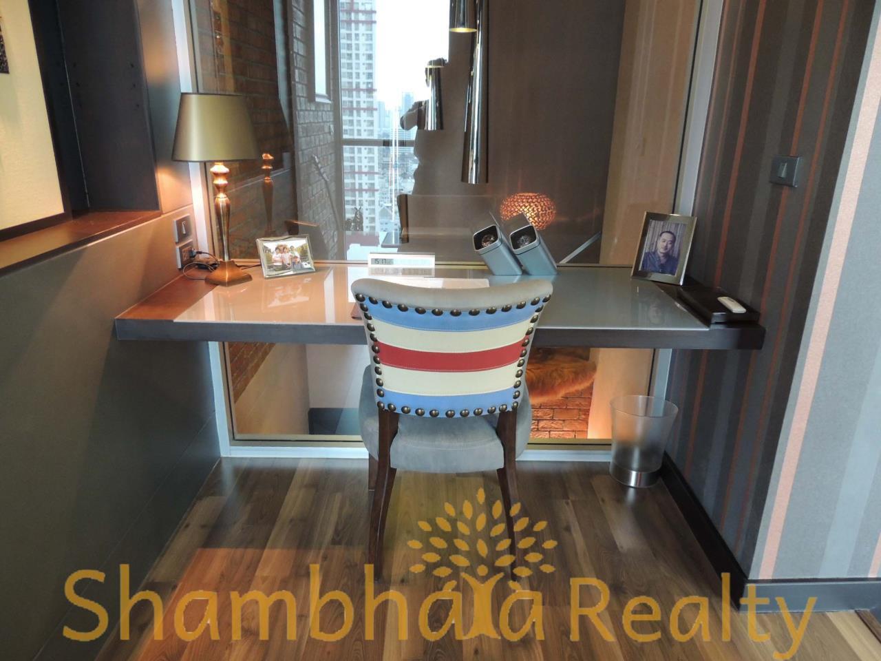 Shambhala Realty Agency's Ideo Q Phayathai Condominium for Rent in Phayathai 4